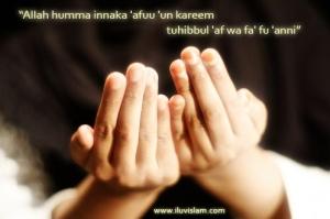 Ajarkan aku doa....